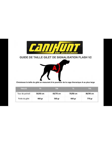 GILLET DE SIGNALISATION FLASH V2 CANIHUNT