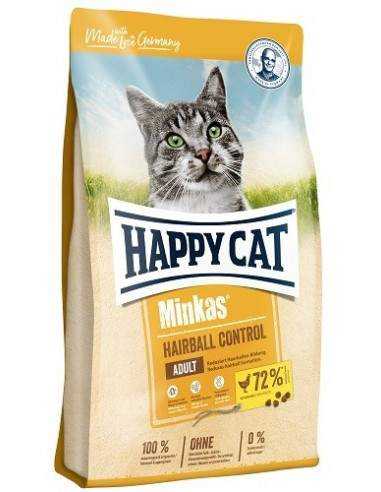 Happy Cat Minkas Volaille Hairball control 10kg