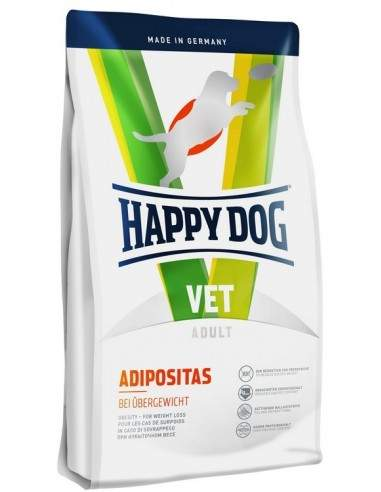 HAPPY DOG VET DIET - ADIPOSITAS - OBESITE 12.5kgs