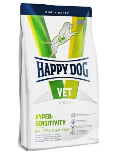 HAPPY DOG VET DIET - HYPERSENSITIVITY - ALLERGIES 12.5kgs
