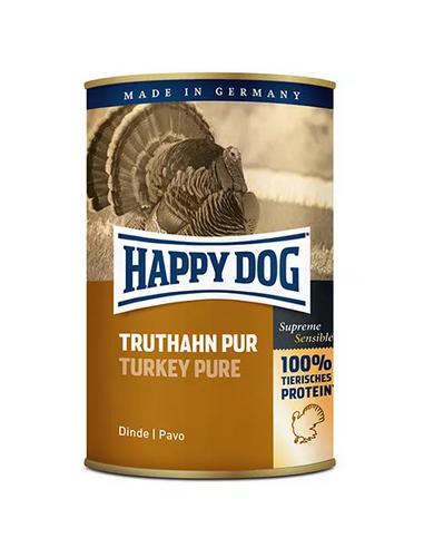 Happy Dog Boîte Dinde pure 400g