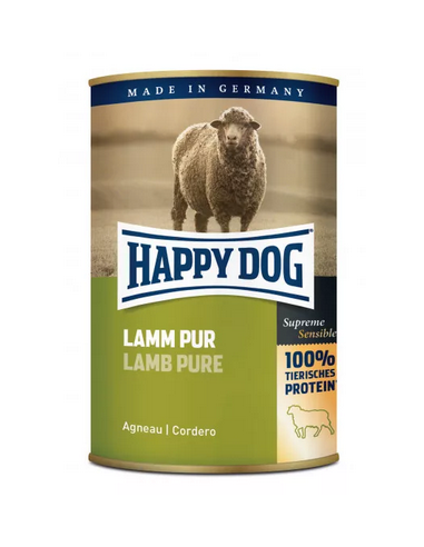 Happy Dog Boîte Agneau pur 400g