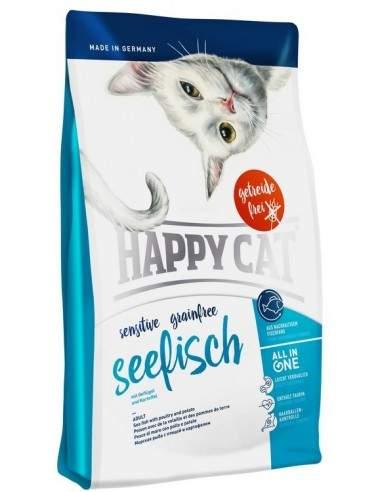 Happy Cat Sensitive Poisson Sans Céréale 1.4kgs - 4kgs