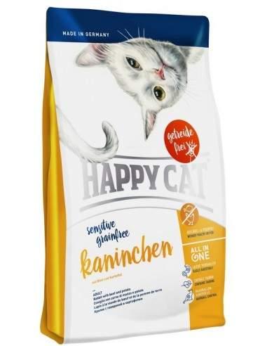 Happy Cat Sensitive Lapin Sans Céréale 1.4kgs - 4kgs