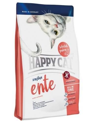 Happy Cat Sensitive Canard Sans Céréale 1.4kgs - 4kgs
